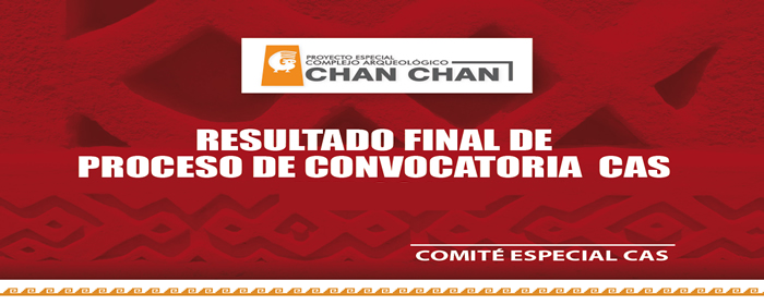 Convocatoria CAS - Resultado Final